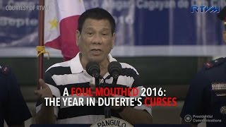 Video A foul-mouthed 2016: The year in Duterte's curses MP3, 3GP, MP4, WEBM, AVI, FLV Desember 2018