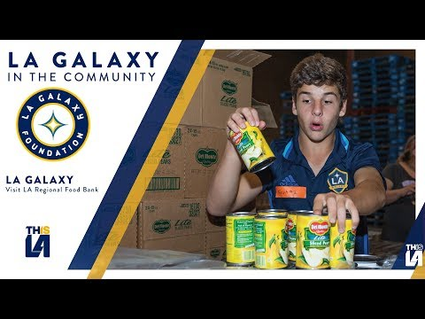 Video: Join the Galaxy in supporting the LA Food Bank | LA Galaxy Foundation