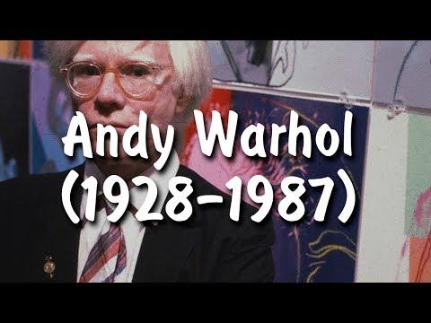 Краткие биографии художников #4/ Энди Уорхол / Andy Warhol (видео)