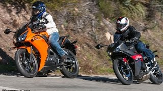 4. 2017 Honda CBR300R vs. Hyosung GD250R