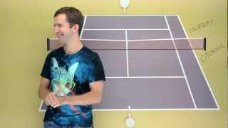 http://www.fuzzyyellowballs.comMy prediction for the US Open Final!  Novak Djokovic versus Adny Murray.