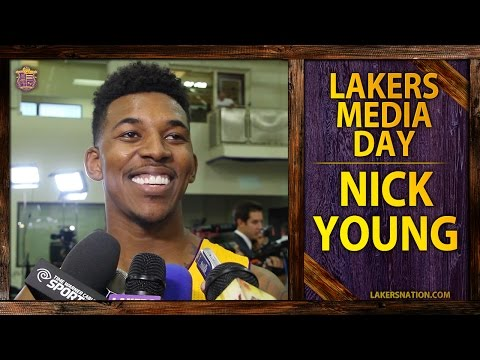 lakers - Nick Young says he's been teaching Kobe Bryant some things over the summer. Plus, isn't sure whether he's going for MVP, defensive player of the year or 6th man in his hilarious Lakers media...