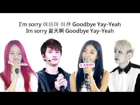[中韓字幕] f(x) Amber Luna Krystal ft. D.O (EXO-K) – Goodbye Summer