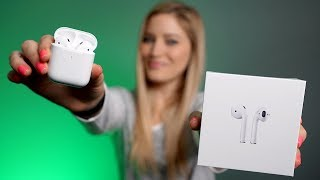 NEW AirPods 2 with Wireless Charging Unboxing!