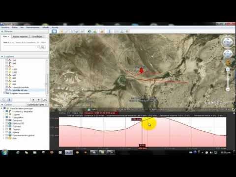 Como obtener el  perfil de elevacion en google earth y medir distancias