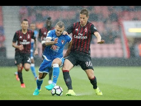 AC Milan - AFC Bournemouth 2-1 (video)