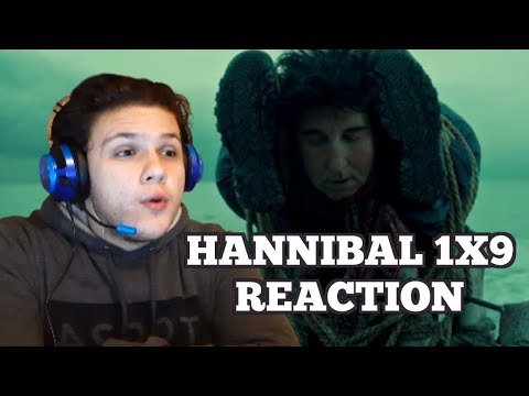 Watching HANNIBAL Season 1 Episode 9 for the FIRST TIME!! (HORROR SHOW REACTION)