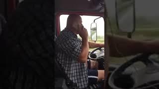 Hit! Kierowca tira zamawia schabowego :D