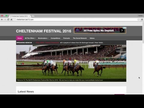 The Bet72 Cheltenham Festival Site