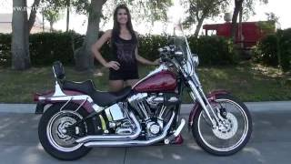 6. 2004 HARLEY DAVIDSON FXST SOFTAIL FOR SALE ON CYCLETRADER
