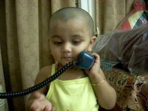 Shriya on phone