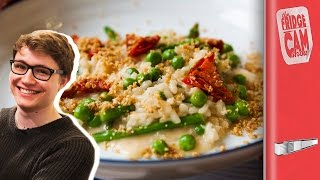 Restaurant Style Risotto Recipe ft Charlie McDonnell | FridgeCam by SORTEDfood