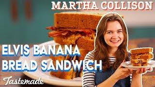 Elvis Banana Bread Sandwich I Martha Collison by Tastemade