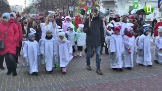 30 гуртів колядників вперше взяли участь у параді вертепів у Хмельницькому