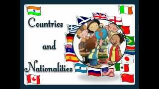 Countries and Nationalities with sound