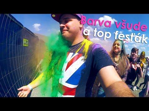 Barva všude a top fesťák (видео)