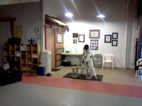Family Martial Arts Center, LLC of Santa Rosa:  Jacob's Brick Break