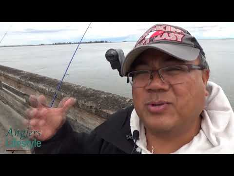 Fishing For Stripe Bass At Antioch Pier