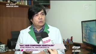 Reportaje en SQP sobre alimentos y hierbas que ayudan en enfermedades