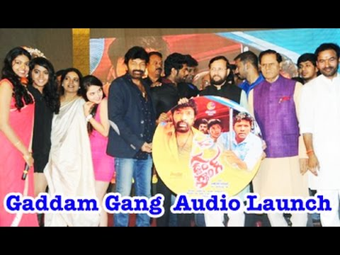 Gaddam Gang Movie Audio Launch || 03