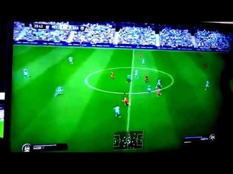 NEW FIFA 15 : Barcelona VS Real Madrid Full Match