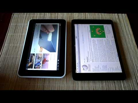iPad Mini vs Cheap Chinese Android Tablet