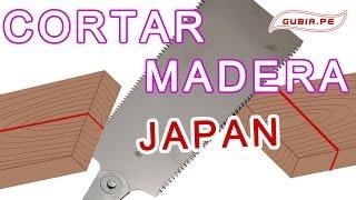 Curso carpinteria como cortar madera preciso Japon Ebanisteria Bricolaje