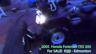 10. 2005 Honda Foreman TRX 500 for Sale
