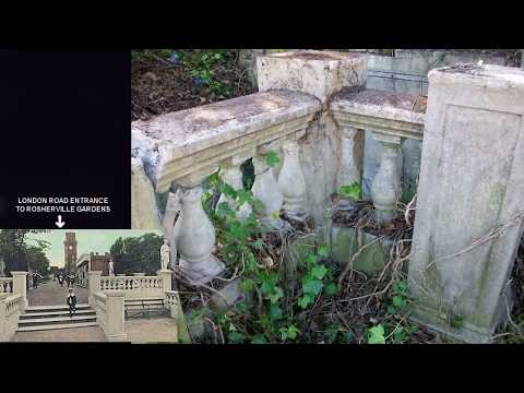 Secret Hidden Tunnel Entrance To Rosherville Gardens   WT Henley Site   By Jas Bains Pt 2