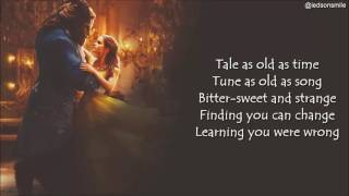 Ariana Grande & John Legend - Beauty and the Beast (lyrics)