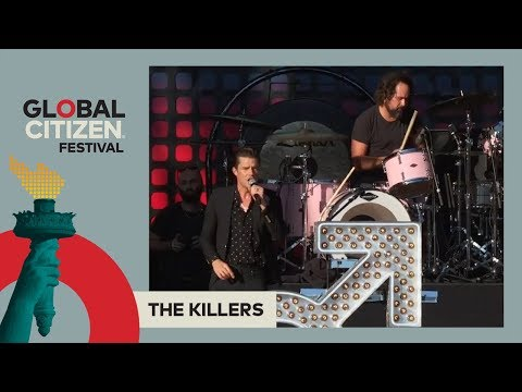 The Killers Perform 'Read My Mind' | Global Citizen Festival NYC 2017 видео