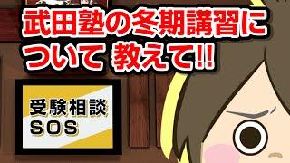 武田塾の冬期講習について教えて!!