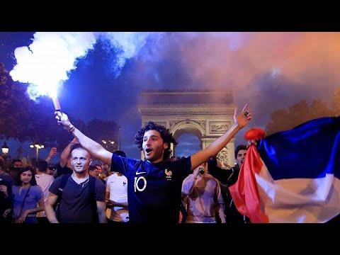 Ξέφρενοι πανηγυρισμοί σε όλη την Γαλλία για την πρόκριση!…