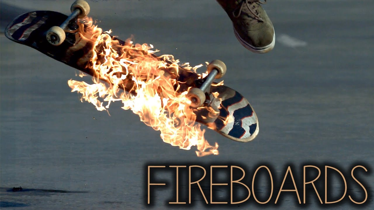 maxresdefault Fireboards: Skateboarding on Fire in Slow Motion