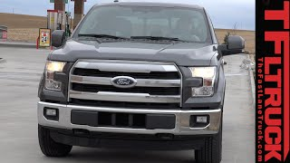 2015 Ford F-150 2.7L Real World MPG Test: Is the EPA MPG Correct? Video