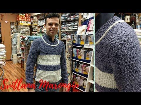 Tutorial Ferri Parte 1/4 : Maglione da uomo ai ferri