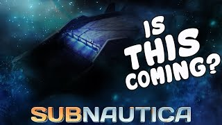 Subnautica - A New Potential Arctic DLC Vehicle Was Announced!? - THE HOVERCRAFT! - Full Release 1.0
