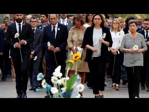 Βαρκελώνη: Εκδηλώσεις μνήμης για τον έναν χρόνο από την τρομοκρατική επίθεση…