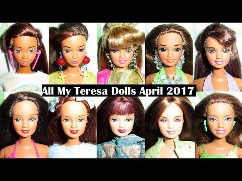 All My Teresa Dolls April 2017