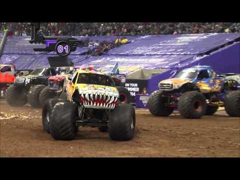Monster Jam in Reliant Stadium - Houston, TX 2014 - Full Show - Episode 2