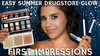 In this STEP BY STEP BEAUTY TUTORIAL I am sharing another Pro Makeup Artist First Impressions Beauty Demo in a Simple & Easy Summer Glow Drugstore Full Face & Body Makeup Tutorial using Models Own, Hard Candy Cosmetics, and L'Oreal affordable brands.Remember to click on the THUMBS UP TAB if you liked this video and leave me a comment down below!  SUBSCRIBE TO MY BEAUTY CHANNEL RIGHT HERE for weekly Beauty Demos, Product Reviews, Makeup Tutorials, and MORE! http://bit.ly/1pX0dBgWould YOU like to be updated on my newest Online Courses , Makeup Classes & Seminars? Sign up here http://bit.ly/2axZUOpCHECK OUT SOME OF MY OTHER AMAZING BEAUTY DEMOS HERE-ORGANIZE your Makeup Kit with this Amazing Pro Makeup Travel Bag by ESUM http://bit.ly/2v0ZsyCBest Foundation Under $10! Maybelline vs Revlon Foundationhttp://bit.ly/2uiyVzhBest Summer Must Have Products  Giveaway Swag Bag and Free Stuff http://bit.ly/2tdEbRtFOLLOW ME on FACEBOOK every Wednesday at 5pm PST during my LIVE Q&A on my Fan Page http://www.facebook.com/mathias4makeupLucky for you I am the only Pro Makeup Artist on YouTube that offers private makeup lessons as well! I teach one on one personal makeup lessons in L.A. at my studio or live over video conference from home, check out my vlog about how you and I can work together! http://bit.ly/1I0Eww3EXCLUSIVE PURCHASE LINKS TO THE ITEMS I RECOMMEND IN THIS STEP BY STEP TUTORIAL RIGHT HERE-ALL L'OREAL PRODUCTS CAN BE FOUND HERE AT ULTAhttp://go.magik.ly/ml/5t5j/ALL HARD CANDY PRODUCTS CAN BE FOUND HERE AT WALMARThttp://go.magik.ly/ml/5t5o/ALL MODELS OWN PRODUCTS CAN BE FOUND HERE AT ULTAhttp://go.magik.ly/ml/5t5k/      Promo Code: MAGICLINKS350 for $3.50 off $15+ spendALL RIMMEL PRODUCTS CAN BE FOUND HERE AT ULTAhttp://go.magik.ly/ml/5t5n/LIKE MY EYEWEAR??? BUY YOUR OWN FRAMES AT FIRMOO HERE!FIRMOO EYEWEAR- Please use my affiliate link to get Free Shipping Worldwide for orders over $55http://bit.ly/2mepvktMY PERSONAL FILMING EQUIPMENT AND ACCESSORIES-Diva Ring Light Su
