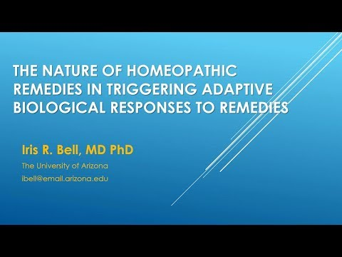 Understanding the Biological Basis of Homeopathic Remedy Response