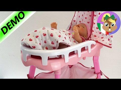 Bambola principessa letto - Princess Coralie – Il kit 3 in 1 del letto delle bambola Demo