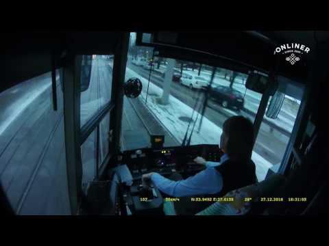 Обычный день водителя трамвая