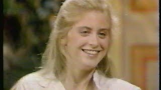 SUPERGIRL <b>Helen Slater</b> Interviews On GMA And ET 1984