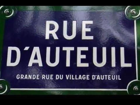 Rue d'Auteuil Paris  Arrondissement  16e
