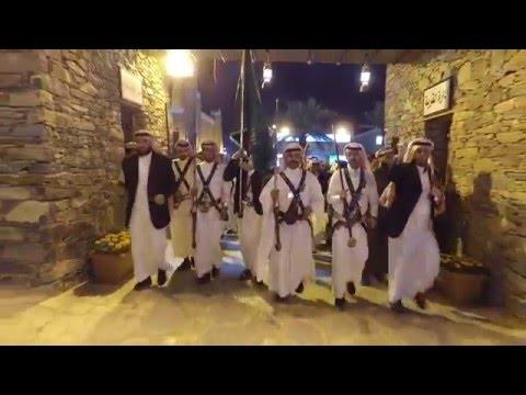 مشاركة #فرقة_الباحة ثاني أيام الجنادرية 30 وسط حضور جماهيري غفير