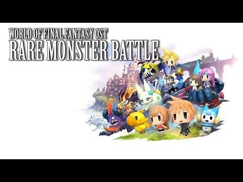 World of Final Fantasy OST FF9 Hunter's Chance ( Rare Mirage Battle )
