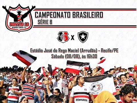 P10 - Santa Cruz 1 x 0 Botafogo 08/08/2015 - Portão 10 - Santa Cruz