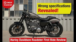 10. Harley Davidson Roadster:   How do the Specs line up?